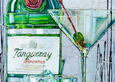 Tanqueray olive