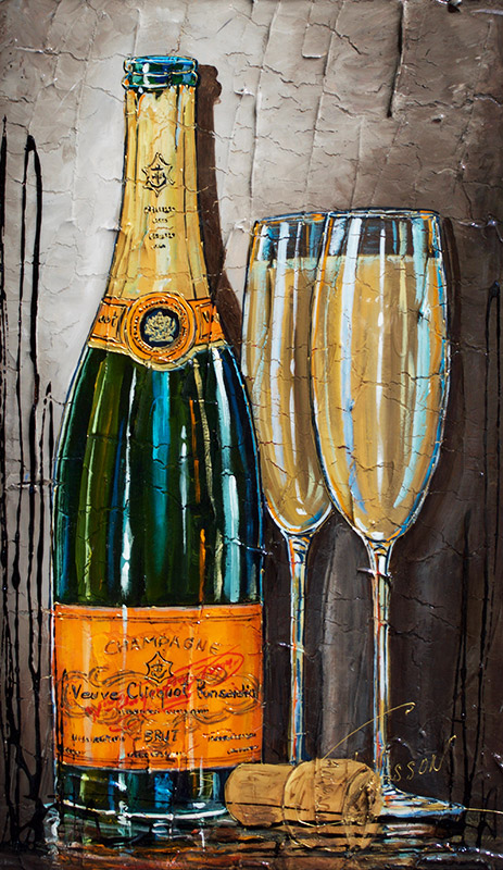 Uvres nathalie chiasson - Coupe champagne veuve clicquot ...