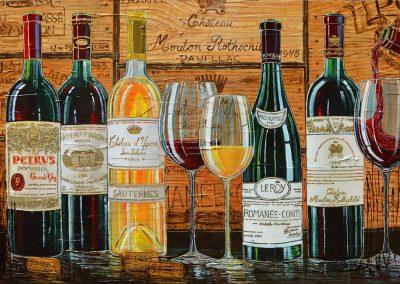 Tableau cellier des grands vins