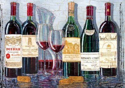 Grandes bouteilles de vins de renom