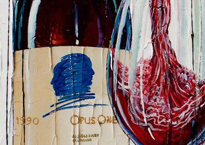 Bouteille de vin Opus One 1990 Sold Out