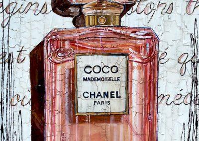 Bouteille de parfum Coco Mademoiselle de chez Chanel