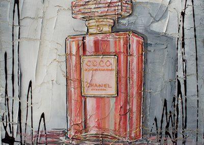Bouteille de parfum Coco Chanel