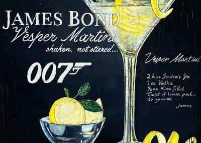 Cocktail de James Bond 007 - Vesper Martini