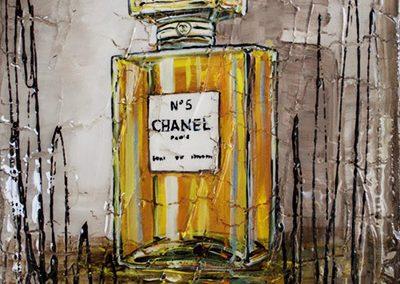 Bouteille de parfum de Chanel Numéro 5