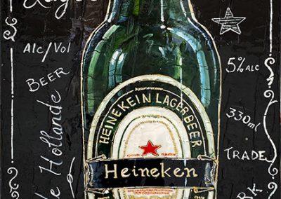 Bouteille Heineken, bière hollandaise