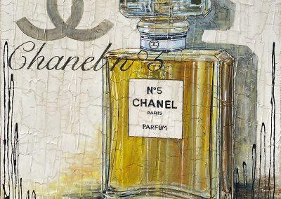 Bouteille de parfum Coco Chanel N°5